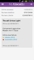 Screenshot of MyTiscali