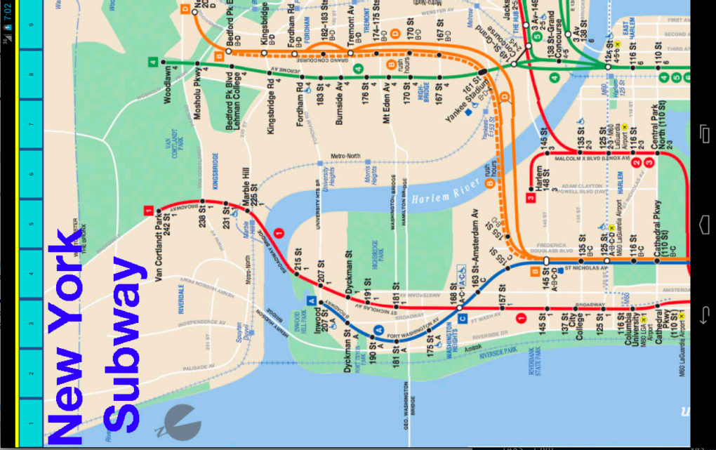 New York Subway & Rail Maps- screenshot