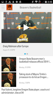 OregonLive: OSU Hoops News - screenshot thumbnail