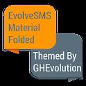 EvolveSMS Folded Orange icon