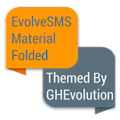 EvolveSMS Folded Orange