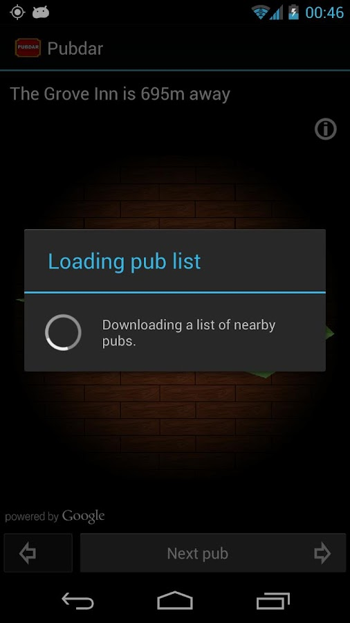 Pubdar Pub Finder (Beta)- screenshot