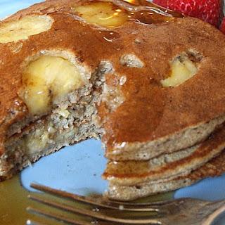 Light and Fluffy Buckwheat Pancakes.