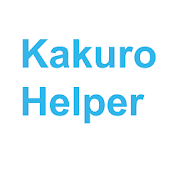 Kakuro Helper
