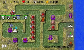 Screenshot of New Eskimo Defense LITE