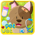 Pet Vet Animal Dressup & Bath icon