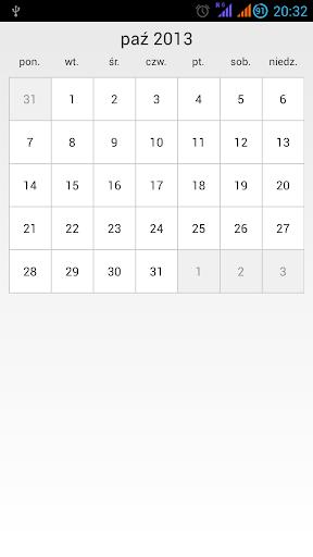 Calendar Card Demo