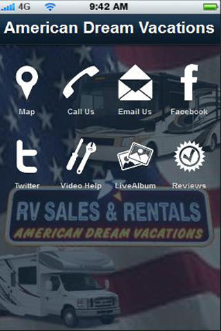 American Dream Vacations- screenshot