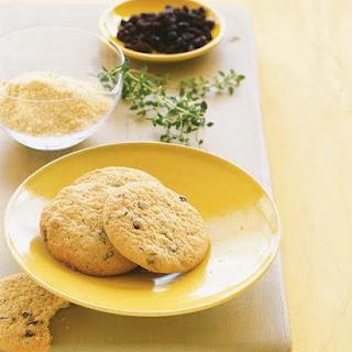 Cornmeal-Thyme Cookies