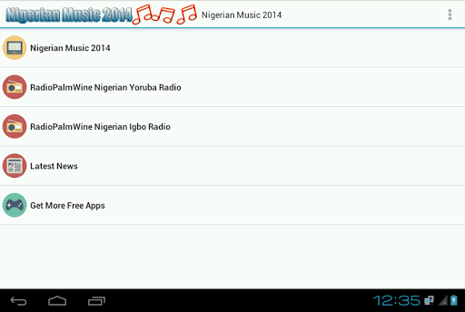 Nigerian Music Radio 2014