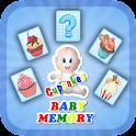 Baby Memory Cupcake icon