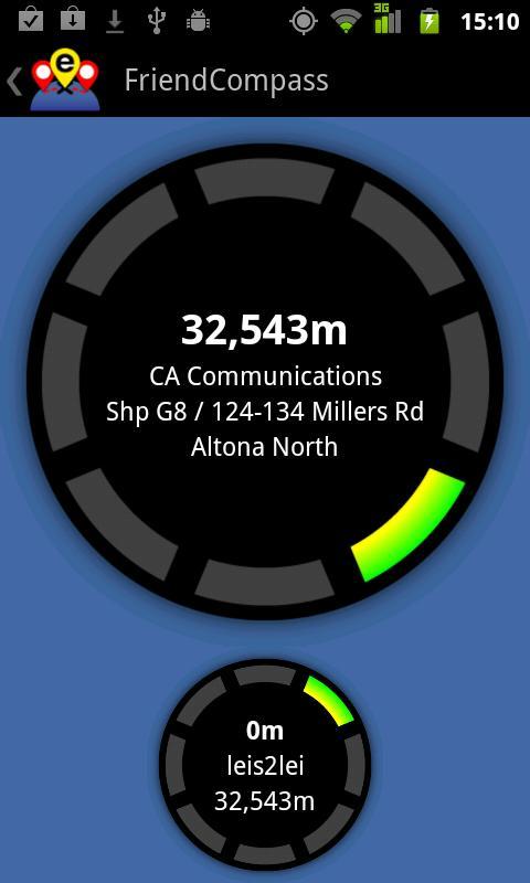 Friend Compass- screenshot