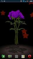 Screenshot of 3D Rose Bouquet LWP Free