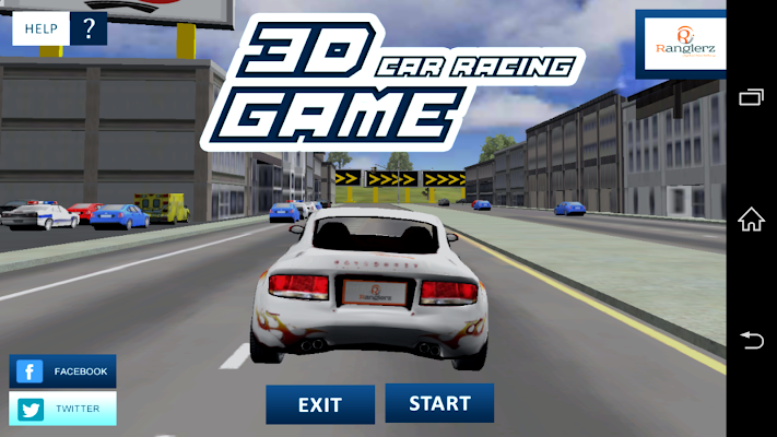 3D Car Racing Ranglerz - screenshot