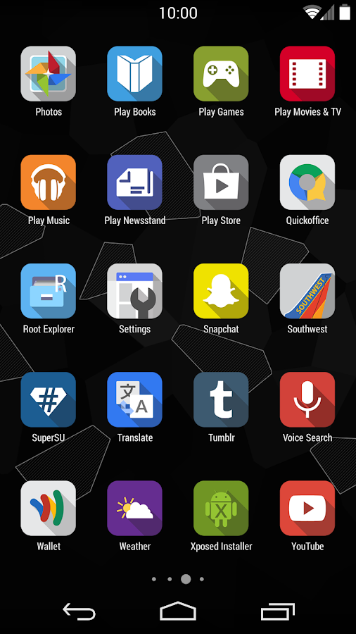 iNex Full - Icons - screenshot