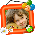 Kids Photo Frames Studio icon