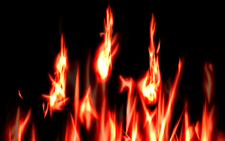 Screenshot of Flames Live Wallpaper