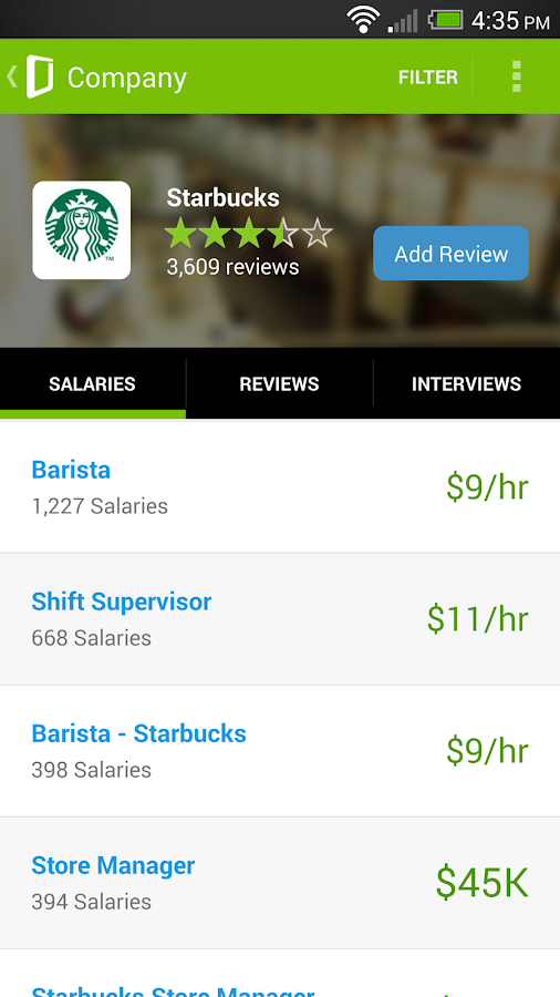 Job Search, Salaries & Reviews - screenshot