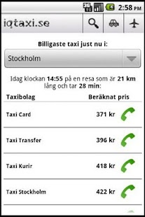 iqtaxi.se - screenshot thumbnail