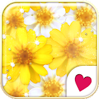 Cute wallpaper★Yellow flower icon