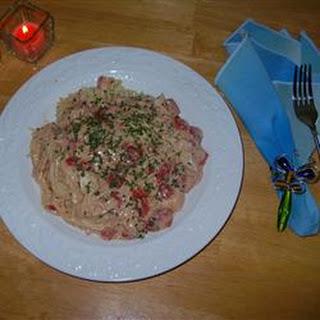 Slow Cooker Spaghetti Chicken