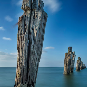 half the story by Alan Wright - Landscapes Beaches