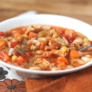 Italian Chicken and Vegetable Soup.