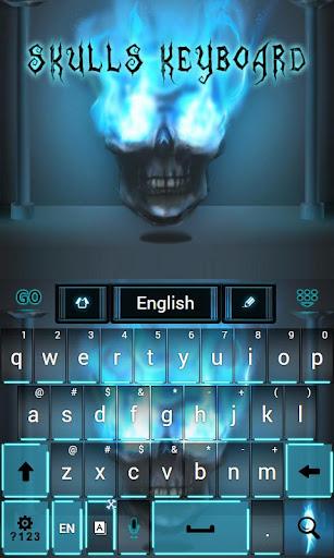 玩免費個人化APP|下載头骨键盘 app不用錢|硬是要APP