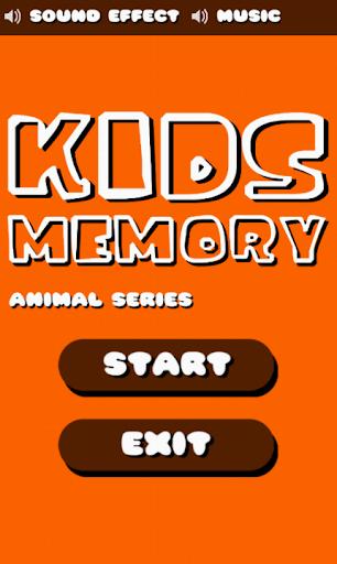 Kids Memory Animal Series