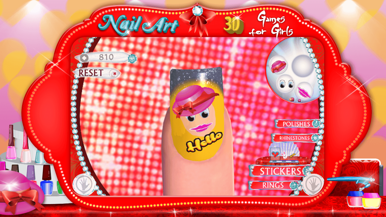 3d nail art games for girls android apps on google play 3d nail art games for girls screenshot prinsesfo Gallery
