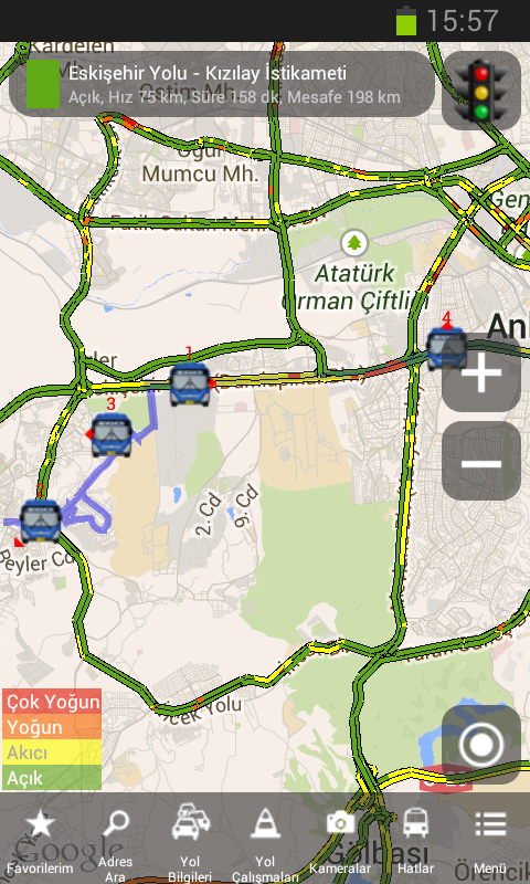 ABB Trafik- screenshot