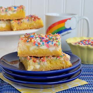 Lemon Magic Cake Bars Recipe