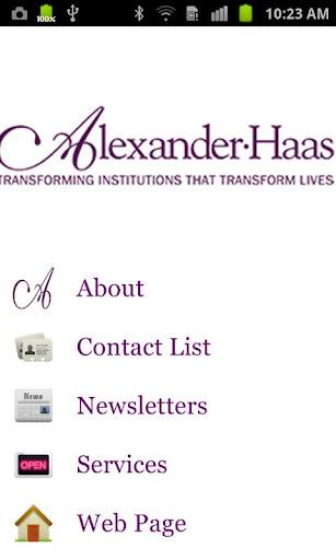 Alexander Haas Client Access