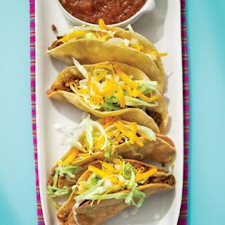 Crispy Tacos Picadillo.