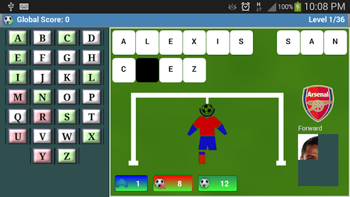 Premier League hangman