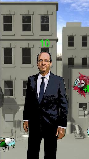 Hollande VS Mouches
