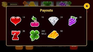 Screenshot of Classic Slots 777 HD
