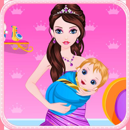 公主出生的寶寶的遊戲 休閒 App LOGO-硬是要APP