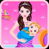 Princess Give Birth a Baby
