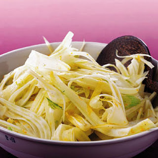 Fennel and Endive Salad with Orange Vinaigrette