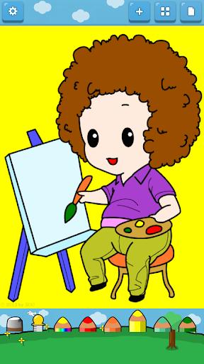 【免費教育App】孩子著色 ( 工作 )-APP點子