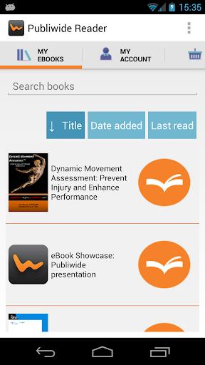 Publiwide Reader EPUB3 EPUB2