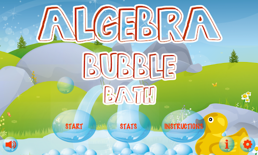 Algebra Bubble Bath