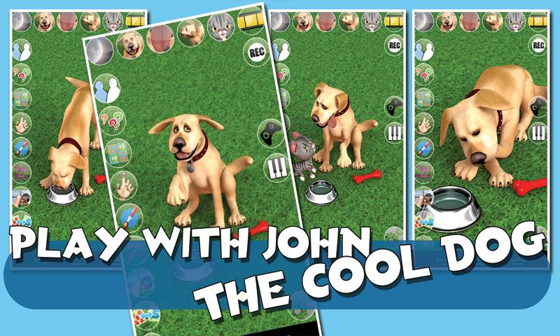Talking John Dog & Soundboard - screenshot