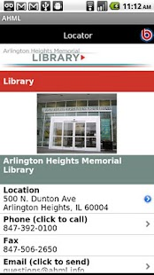 Arlington Heights Library- screenshot thumbnail