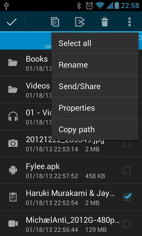 fylee | File Manager - screenshot