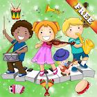 Jeux de musique pour enfants instrument de musique icon