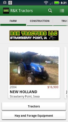 R K Tractors