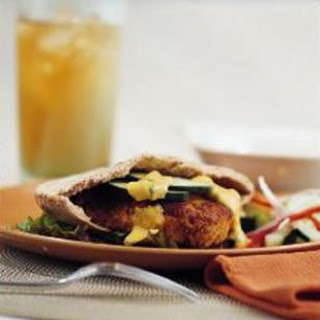 Curried Cashew Burgers.