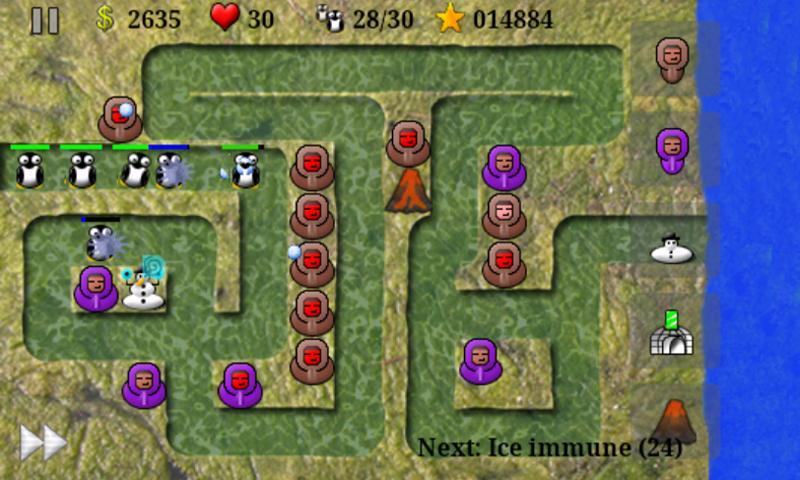 New Eskimo Defense- screenshot